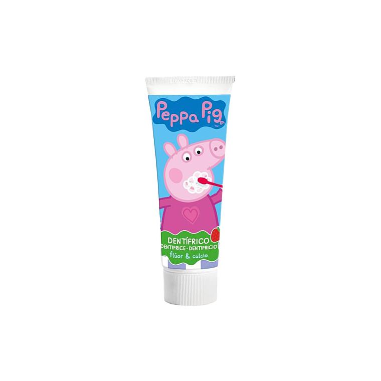 Детская зубная паста со вкусом клубники - Lorenay Peppa Pig Toothpaste — фото N1