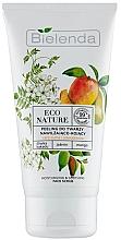 Parfumuri și produse cosmetice Scrub pentru față - Bielenda Eco Nature Kakadu Plum, Jasmine and Mango