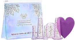Parfumuri și produse cosmetice Cupe din silicon pentru masaj facial și corporal - Crystallove Crystalcup For Face & Body