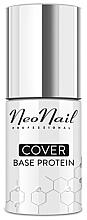 Parfumuri și produse cosmetice Bază camuflaj pentru gel-lac - NeoNail Professional Cover Base Protein