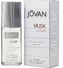 Parfumuri și produse cosmetice Jovan Platinum Musk For Men - Apă de colonie