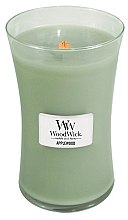 Parfumuri și produse cosmetice Lumânare aromată în suport de sticlă - WoodWick Applewood Large Jar Candle