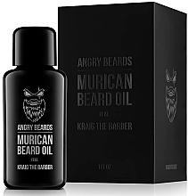 Parfumuri și produse cosmetice Ulei pentru barbă - Angry Beards Murican Beard Oil