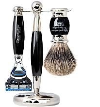 Parfumuri și produse cosmetice Set - Taylor of Old Bond Street Fusion (razor/1szt + sh/brush/1szt + stand/1szt)