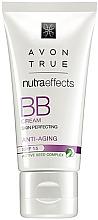 """Parfumuri și produse cosmetice Cremă tonifiantă cu efect anti-îmbătrânire BB """"Perfecțiune"""" SPF 15 - Avon True Nutra Effects Bb Cream Anti-Aging"""