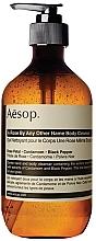 Parfumuri și produse cosmetice Gel de duș, cu extract de trandafir - Aesop A Rose By Any Other Name Body Cleanser