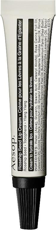 Cremă de buze - Aesop Rosehip Seed Lip Cream
