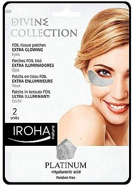 Patch-uri sub ochi - Iroha Nature Platinum Patches Extra Glowing Eyes — Imagine N1
