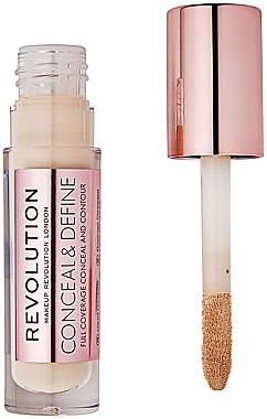 Concealer de față - Makeup Revolution Conceal and Define Concealer