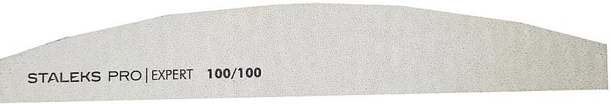Pilă minerală pentru unghii, semilună, NFB-40/4, 100/100 - Staleks Pro