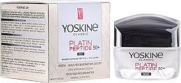 Parfumuri și produse cosmetice Ночной крем для нормальной и комбинированной кожи - Yoskine Classic Platin Peptide Face Cream 50+