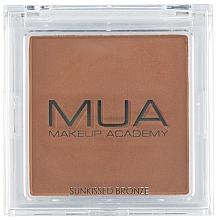 Parfumuri și produse cosmetice Bronzer - MUA Bronzer Sunkissed Bronze