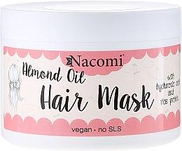 Parfumuri și produse cosmetice Mască de păr - Nacomi Almond Oil Hair Mask
