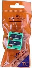 Parfumuri și produse cosmetice Ascuțitoare dublă pentru creioane, 2199, verde - Top Choice