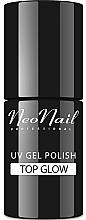 Parfumuri și produse cosmetice Top coat pentru gel-lac, efect lucitor - NeoNail Professional Top Glow
