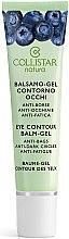 Parfumuri și produse cosmetice Gel pentru pielea din jurul ochilor - Collistar Natura Eye Contour Balm-Gel