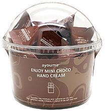 """Parfumuri și produse cosmetice Cremă de mâini """"Ciocolată"""" - Ayoume Enjoy Mini Choco Hand Cream"""
