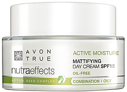 Parfumuri și produse cosmetice Cremă de zi hidratantă și matifiantă SPF15 - Avon True Nutra Effects