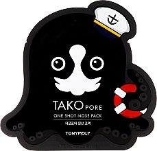 Parfumuri și produse cosmetice Mască-plasturi pentru punctele negre - Tony Moly Tako Pore One Shot Nose