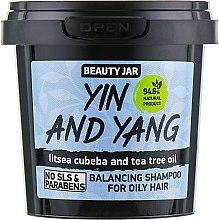 "Parfumuri și produse cosmetice Șampon pentru păr gras ""Yin and Yang"" - Beauty Jar Shampoo For Oily Hair"