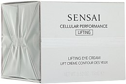 Parfumuri și produse cosmetice Concentrat revitalizant - Kanebo Sensai Cellular Performance Lifting Eye Cream