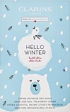 Parfumuri și produse cosmetice Set - Clarins Hello Winter (h/cr/30ml + lip/balm/15ml)