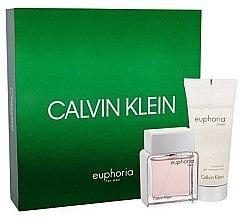 Parfumuri și produse cosmetice Calvin Klein Euphoria Men - Set (edt/50ml + sh/gel/100ml)