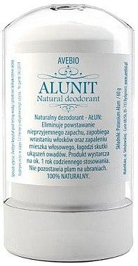 Deodorant natural - Avebio Alunit Natural Deodorant — Imagine N1