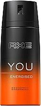 Parfumuri și produse cosmetice Deodorant-spray - Axe You Energised Deodorant Spray