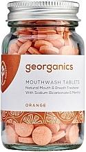 """Parfumuri și produse cosmetice Tablete pentru igiena orală """"Portocală"""" - Georganics Mouthwash Tablets Orange"""