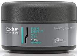 Parfumuri și produse cosmetice Argilă mată pentru păr, fixare ușoară - Kadus Professional Men Shift It Matt Clay