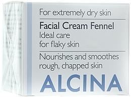 """Parfumuri și produse cosmetice Cremă de față """"Fennel"""" - Alcina T Facial Cream Fennel"""