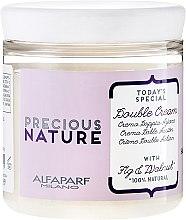 Parfumuri și produse cosmetice Cremă cu Dublă Acțiune pentru Păr Rebel - Alfaparf Precious Nature Double Cream
