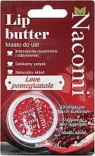 """Parfumuri și produse cosmetice Balsam de buze """"Rodie"""" - Nacomi Lip Butter"""