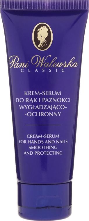 Cremă protectoare pentru mâini și unghii - Miraculum Pani Walewska Classic Hand & Nail Cream-Serum