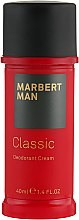 Parfumuri și produse cosmetice Deodorant-cremă - Marbert Man Classic Deodorant Cream