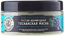 """Parfumuri și produse cosmetice Mască pentru păr uscat și deteriorat """"Emerald Tuscan"""" - Planeta Organica Toscana Hair Mask"""