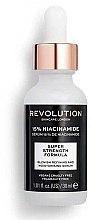 Parfumuri și produse cosmetice Ser cu niacinamide pentru față - Makeup Revolution Skincare Blemish Refining And Moisturising Serum 15% Niacinamide