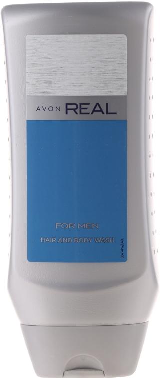 Avon Real For Men - Șampon-Gel de duș — Imagine N1
