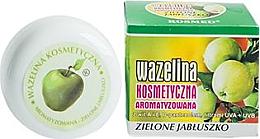 """Parfumuri și produse cosmetice Vaselină pentru buze """"Măr verde"""" - Kosmed Flavored Jelly Green Apple"""