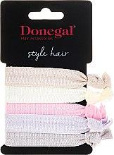 Parfumuri și produse cosmetice Elastice de păr Twistband, 5 buc. - Donegal