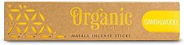 Parfumuri și produse cosmetice Bețișoare aromate - Song Of India Organic Goodness Sandalwood