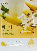 Parfumuri și produse cosmetice Mască din țesătură cu banană - Esfolio Essence Mask Sheet