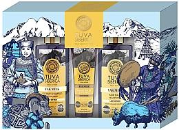 Parfumuri și produse cosmetice Săpun - Natura Siberica Tuva Yak Milk (hand/balm/75ml + shmp/300ml + cond/300ml)