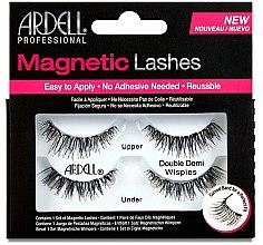 Parfumuri și produse cosmetice Gene false - Ardell Magnetic Strip Lash Double Demi Wispies