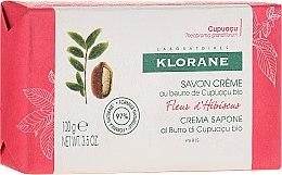 Parfumuri și produse cosmetice Săpun - Klorane Cupuacu Hibiscus Flower Cream Soap