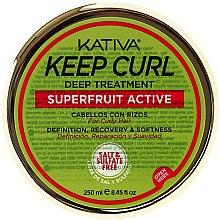 Parfumuri și produse cosmetice Mască pentru păr creț - Kativa Keep Curl Deep Treatment