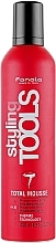 Parfumuri și produse cosmetice Spumă de păr - Fanola STools Total Mousse Extra Strong Hair Mousse