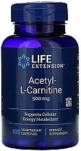 Parfumuri și produse cosmetice Acetil carnitina - Life Extension Acetyl-L-Carnitine, 500 mg