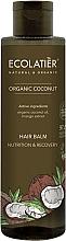 """Parfumuri și produse cosmetice Balsam de păr """"Nutriție și recuperare"""" - Ecolatier Organic Coconut Hair Balm"""